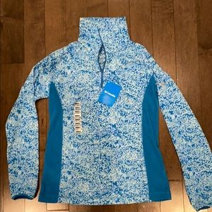 Columbia Half Zip with tags